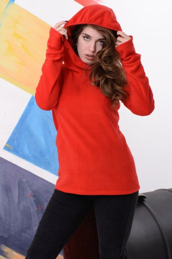 Толстовка 10825 (Красный) - Фаина