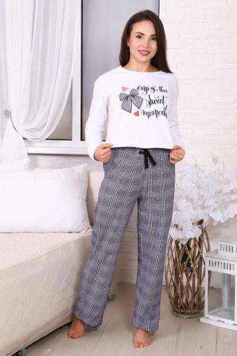 Пижама 30501 (Белый) - Фаина
