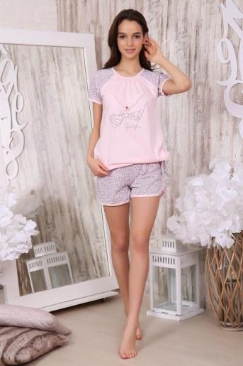 Пижама 40001 (Розовый) - Фаина