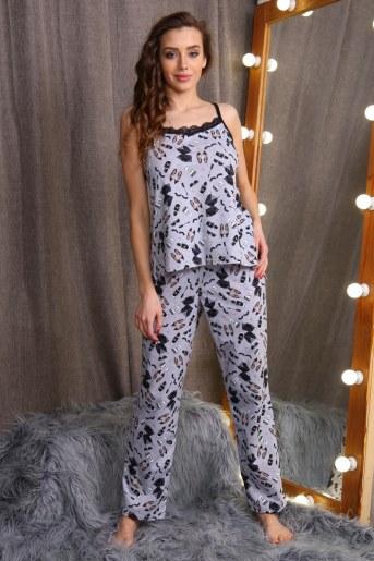 Пижама 15119 (Серый) - Фаина