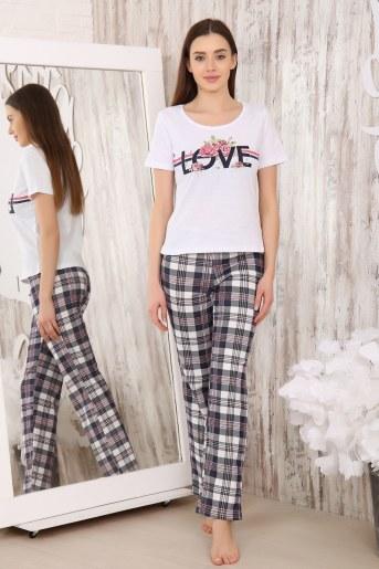 Пижама 5971 (Белый) - Фаина