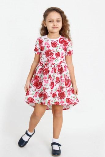 Платье Витаминка детское (Белый) - Фаина