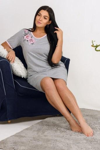 Сорочка Сайрес (Серый-меланж) (Фото 2)