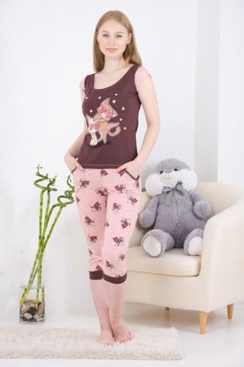 Пижама 10835 (Какао) - Фаина
