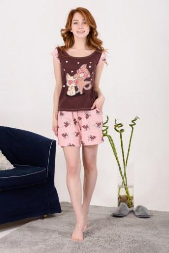 Пижама 10836 (Какао) - Фаина