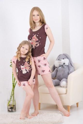 Пижама 10836 (Какао) (Фото 2)