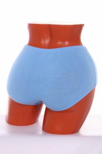 №Ж551 Трусы женские бесшовные (Голубой) (Фото 2)