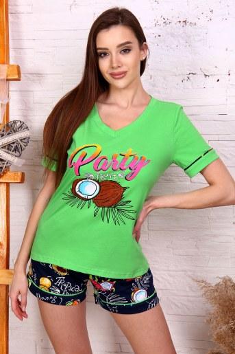 Пижама 2632 (Зеленый) - Фаина
