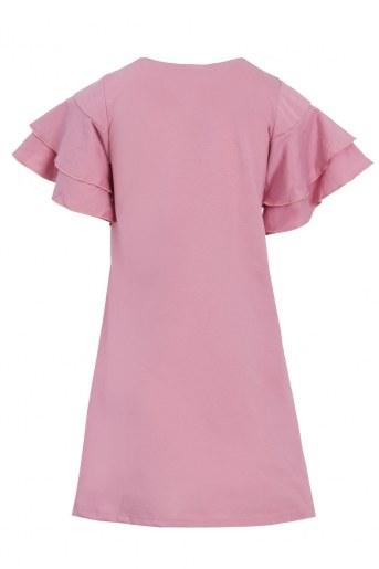 Платье Сусана детское (Розово-брусничный) (Фото 2)