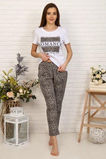 Пижама 33503 (Леопард) - Фаина