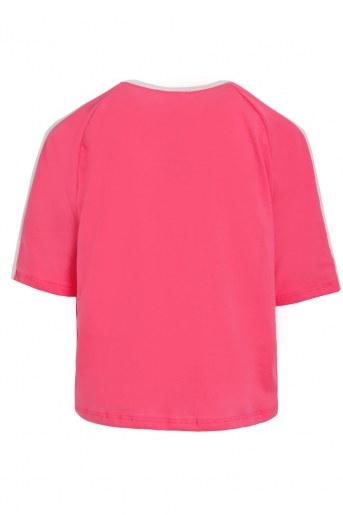 Футболка Свет детская (Кораллово-розовый) (Фото 2)