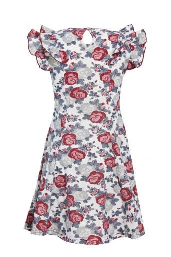 Платье Розолина детское (Молочный) (Фото 2)