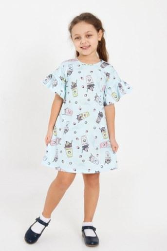 Платье Верона детское (Голубой) - Фаина
