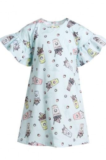 Платье Верона детское (Голубой) (Фото 2)