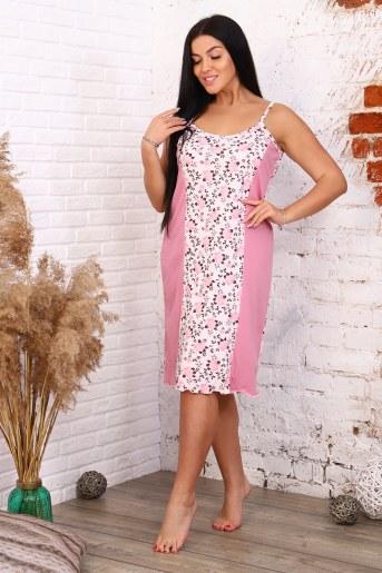 Сорочка 12893 (Розовый) - Фаина