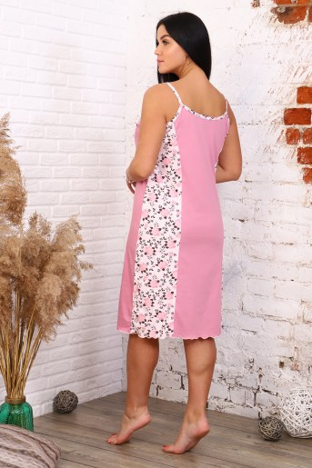 Сорочка 12893 (Розовый) (Фото 2)