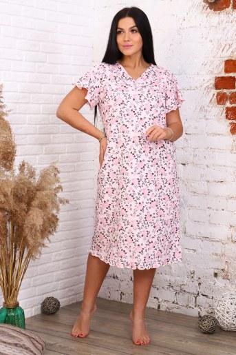 Сорочка 12894 (Розовый) - Фаина