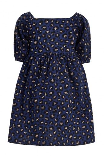 Платье Манэ детское (Темно-синий) (Фото 2)