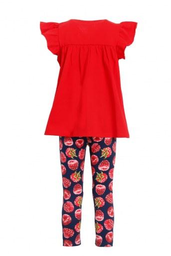 Костюм Полянка детский (Красный) (Фото 2)