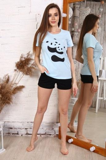 Пижама 33504 (Голубой) - Фаина