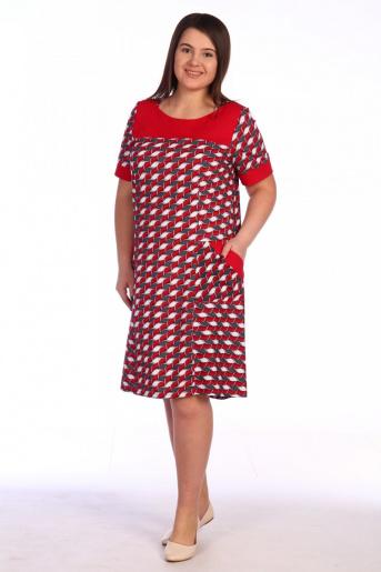 №1.1С Платье домашнее - Фаина