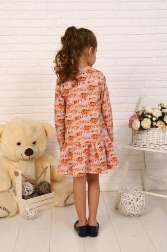 Платье Бутон детское (Персик) (Фото 2)