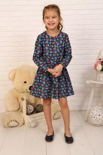Платье Дженнифер детское (Вишня) - Фаина