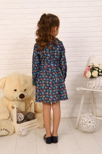 Платье Дженнифер детское (Вишня) (Фото 2)