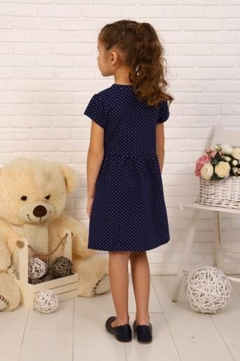 Платье Бисер детское (Темно-синий) (Фото 2)