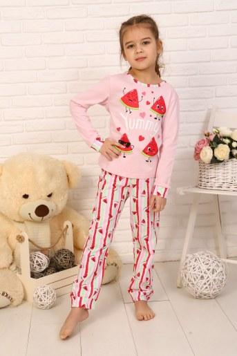 Пижама Вкусняшка детская (Розовый) - Фаина