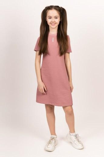 Платье 1520 (Розовый) - Фаина