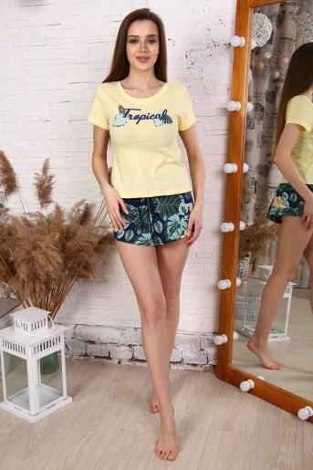 Пижама 30507 (Желтый) - Фаина