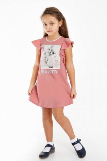 Платье Гаяне детское (Сухая роза) - Фаина