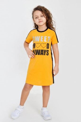 Платье Новелла детское (Желтый) - Фаина
