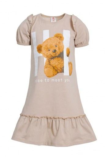 Платье Игрушка детское (Бежевый) - Фаина
