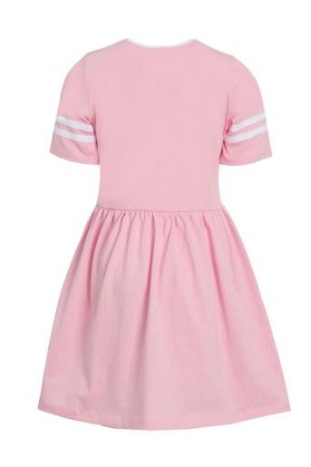 Платье Мариэтта детское (Розовый) (Фото 2)
