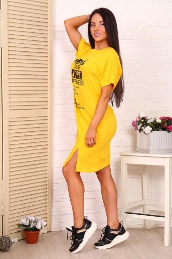 Туника 12879 (Желтый) (Фото 2)