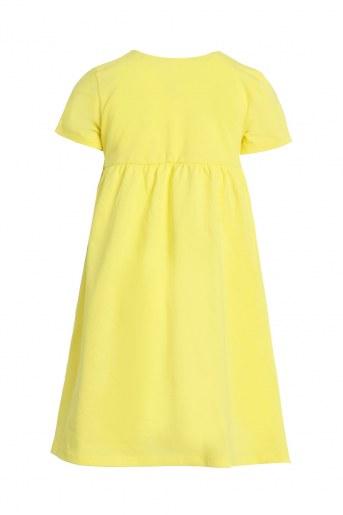 Платье Акварель детское (Желтый) (Фото 2)