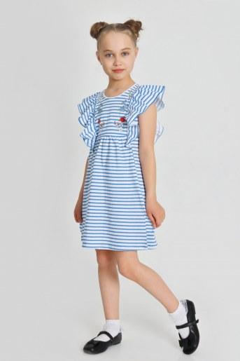 Платье Лариса детское (Синий) - Фаина