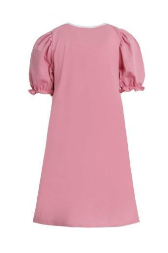 Платье Бенефис детское (Розово-брусничный) (Фото 2)