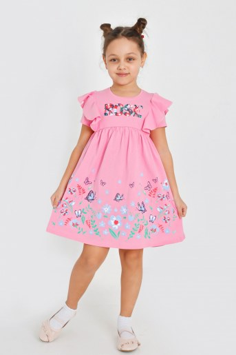 Платье Тамуна детское (Розовый) - Фаина