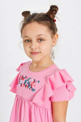 Платье Тамуна детское (Розовый) (Фото 2)