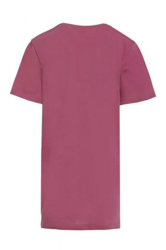 Платье Арина детское (Розово-брусничный) (Фото 2)