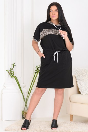 Платье 13464 (Черный) - Фаина