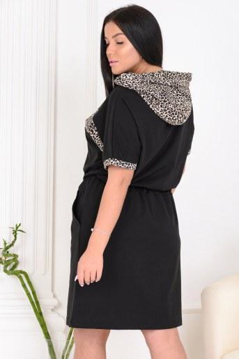 Платье 13464 (Черный) (Фото 2)