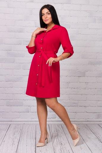 Платье 25184 (Бордовый) - Фаина