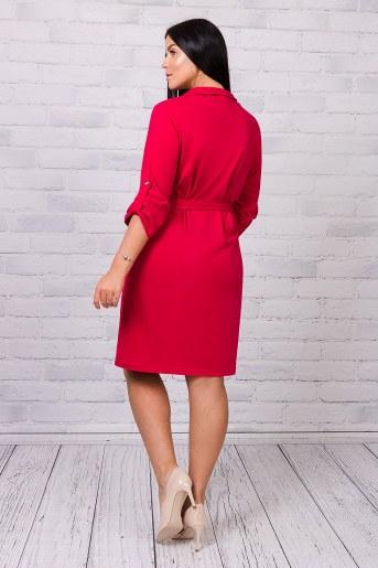 Платье 25184 (Бордовый) (Фото 2)