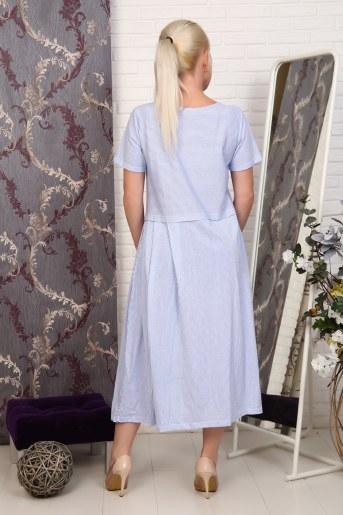 Платье 27601 (Голубой) (Фото 2)