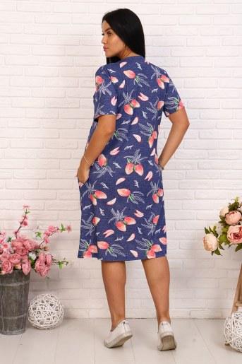 Платье 25747 (Синий) (Фото 2)