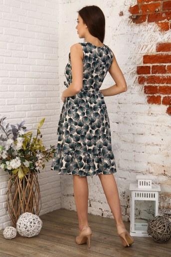 Платье 35021 (Цветы) (Фото 2)